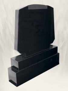 T.V - Panel Black Headstone