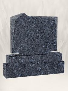 M.5 Blue Pearl Headstone