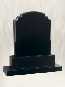 R.T.F.S Black Headstone