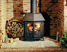 The Charnwood Country 12 Wood-Burning Stove