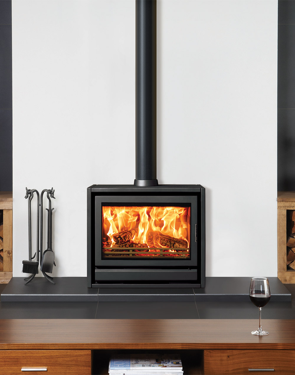 wood free fireplaces stoves freestanding product gazco burning standing riva stovax fireplace