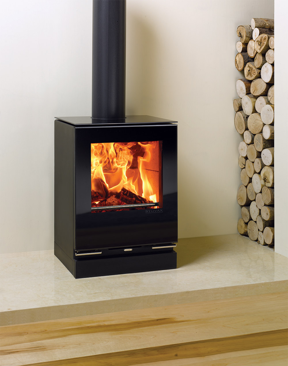 Stovax Riva Vision Small Freestanding Stoves Stovax Gazco Stoves Wood Burning Multi Fuel