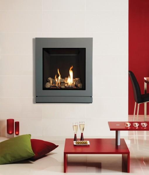 Gazco Riva2 530 & 670 Designio2 Steel