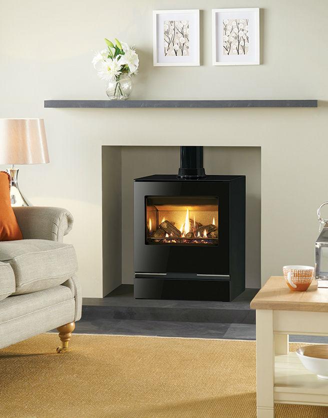 Gazco Gas Vision Medium 5 54kw – Gas stoves, Stovax & Gazco