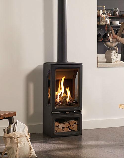 Gazco Gas Vogue Midi T 4 8kw – Freestanding stoves, Gas