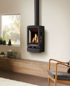 Gazco Gas Vogue Midi T Wall Mounted 4.8kw